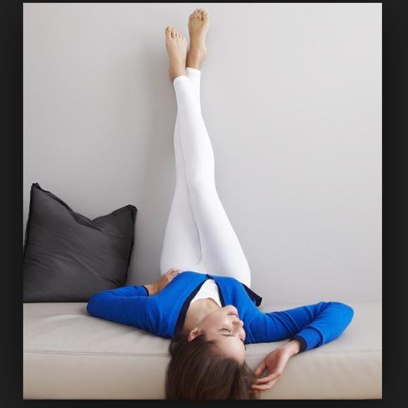 78d52e78f1487 Cuddl Duds Pants | Climate Smart Legging White Medium | Poshmark
