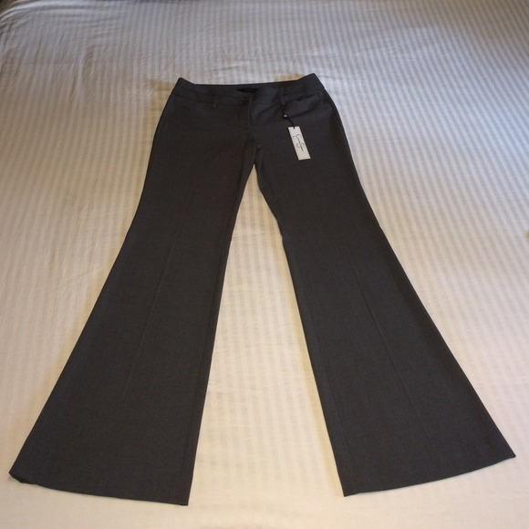 30% off Jessica Simpson Pants - Dark gray high waisted flare dress ...