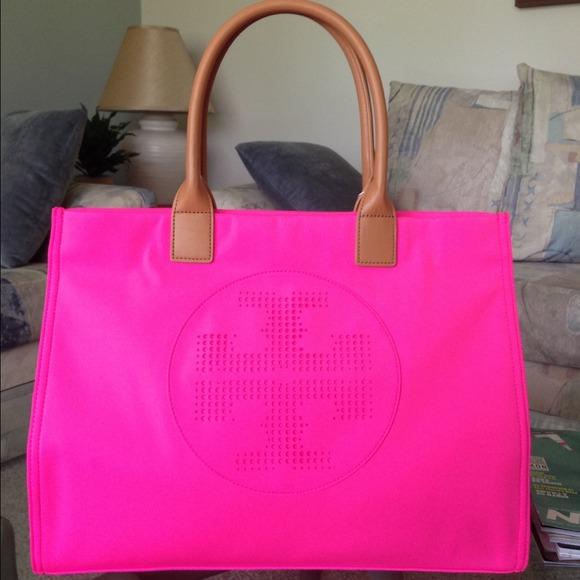 d5e200485c2 Tory Burch Bags | Ella Neoprene Hot Pink | Poshmark