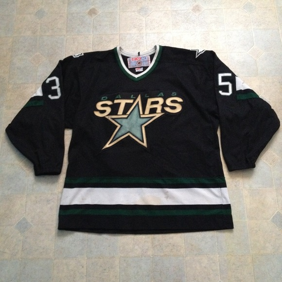 dallas stars jersey vintage