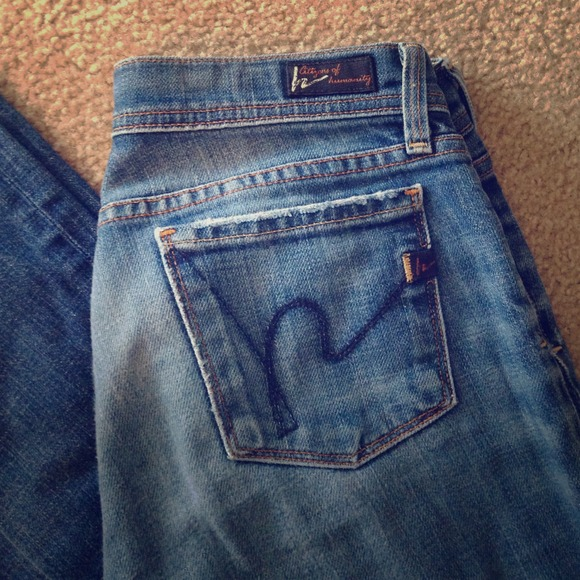 76ff3b720515 Citizens of Humanity Jeans   Low Waist Flare   Poshmark