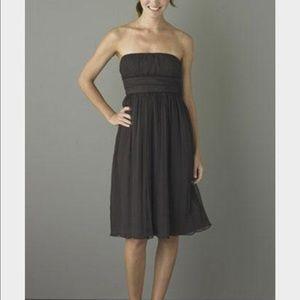 J.Crew Silk Strapless Dress
