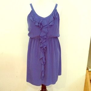 suzy chin Dresses & Skirts - Size 14 Flowy Blue Dress with Elastic Waist