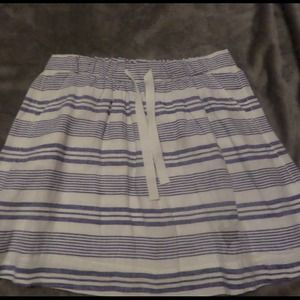 NWT J. CREW Stripe Skirt