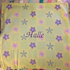 Taggies Other - Taggies blanket Halle personalized Original taggie