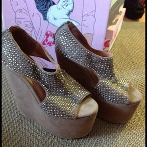 Jeffrey Campbell studded platforms