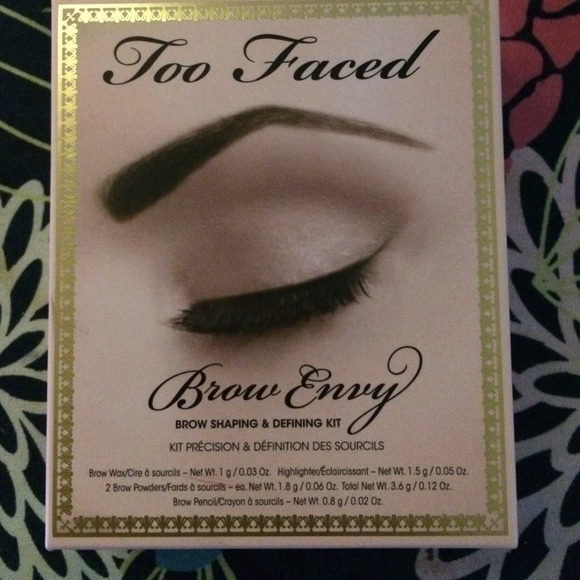 Too Faced Accessories Brow Envy Brow Kit Poshmark