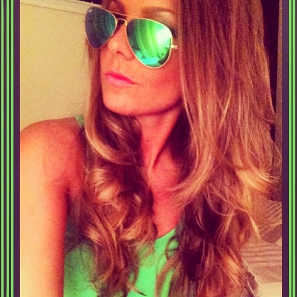 Ray Ban Green Flash Aviator
