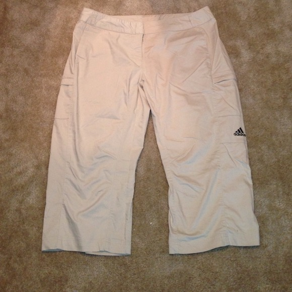 Adidas - NWOT Size 18 Womens Adidas Light Tan Capri Pants from ...