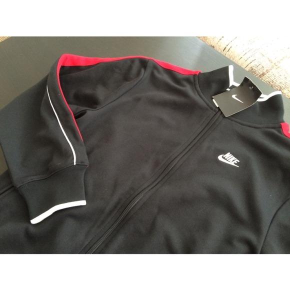 Chaqueta De Color Rojo Nike Hombres Chaqueta De Chándal TtrvUn2Jwl