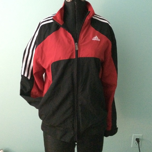 Thehampsteadfactory Red Black Adidas co uk Jackets And OkX0Z8nwPN