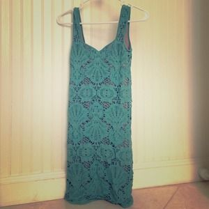 Free people sleeveless medallion slip dress