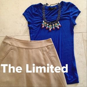 The Limited Tops - The Limited Blue Top