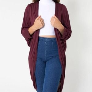 American Apparel Sweaters - American Apparel Viscose Shawl Cardigan