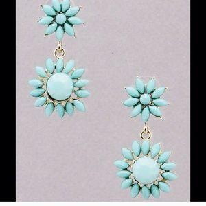 Kristee P Jewelry - Statement Mint Earrings
