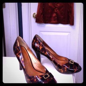 ❌Dana Buchman leopard shoes 7 heels❌bundled