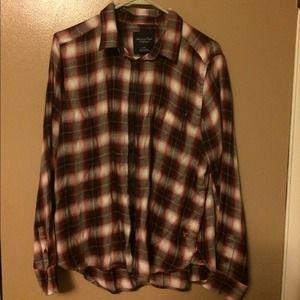 American Eagle Women's Flannel Shirt