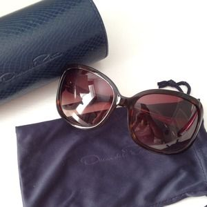 Accessories - Oscar de la Renta brown sunglasses