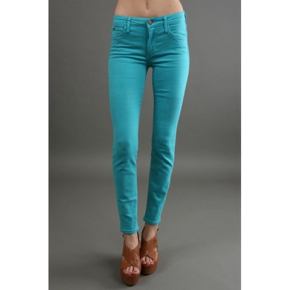 88% off Rich & Skinny Pants - Rich & Skinny Turquoise Skinny Jeans ...