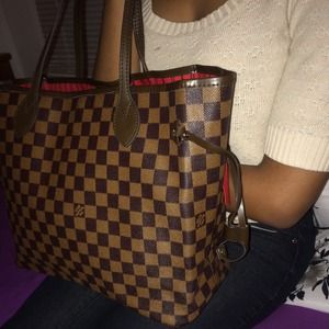 LV Louis Vuitton MM Neverfull