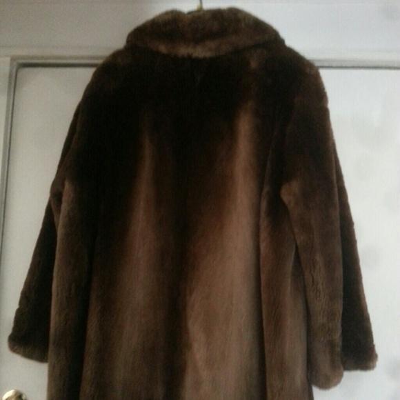 30% off Vintage Outerwear - Vintage 50's Sheared Beaver Fur Coat ...