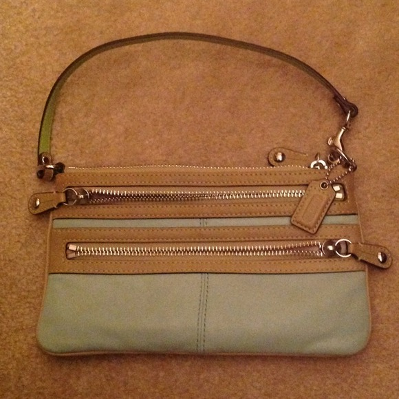 Coach Accessories - Coach two tone wristlet