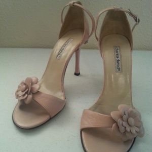 Charles David Shoes - Charles David Flower High Heel Shoe Pink Nordstrom