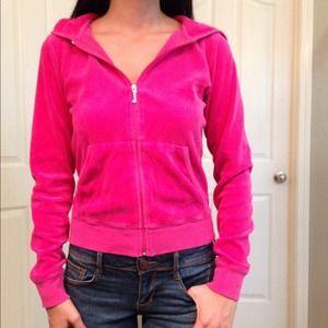 Juicy Couture Pink Hoodie