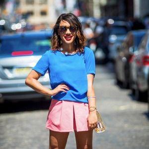 Pink Zara skort