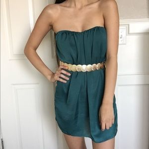 Green Dress (belt not included)