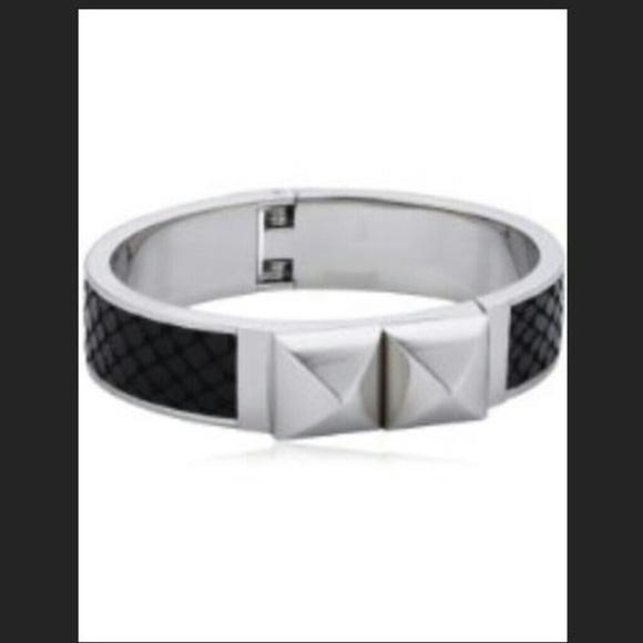 d589ffe77b1 Michael Kors Jewelry | Glam Rock Pythonsilver Cuff Bracelet | Poshmark