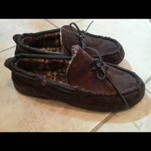 levi Shoes - Signature Levi Moccasins Winter House Slippers