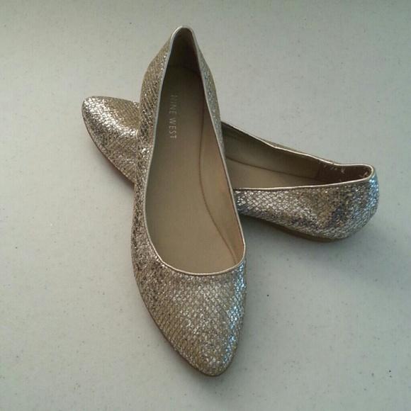 Glitter Pointe Pointe Flat Ballet Glitter