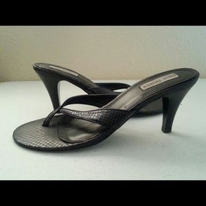 Steve Madden Shoes - Steve Madden Kitten Heel Thong Sandle