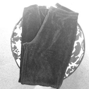 Pants - Velvet leggings