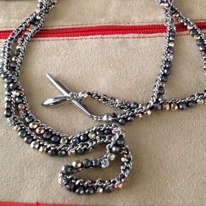 Stella and Dot wrap necklace!
