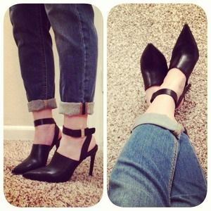 Zara Ankle Wrap Around Strap Heel