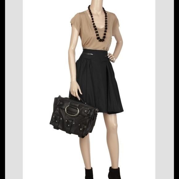 a l c alc taffeta skirt from s closet on poshmark