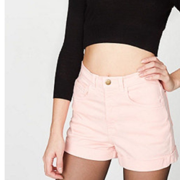 31% off American Apparel Pants - American Apparel High Waist ...