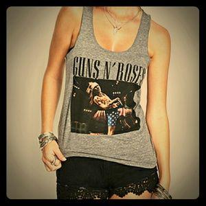 Forever 21 Tops - ⚡Guns N Roses Tank 🆕