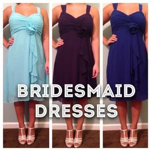 Bridesmaid Dresses!