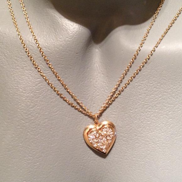 60 jewelry clearance gold tone locket