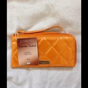 REDUCED/Iman Tangerine Wallet