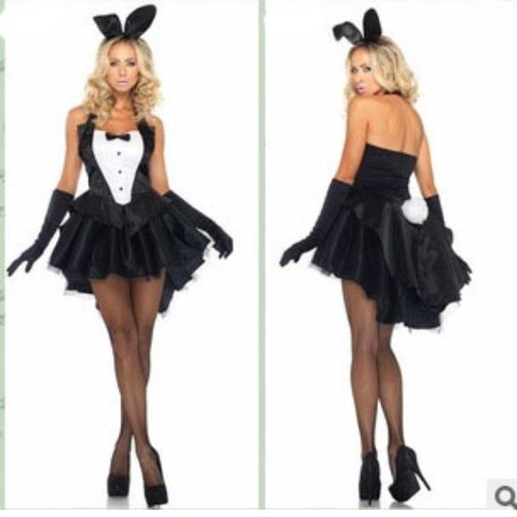 sexy playboy bunny halloween costume - Halloween Costume Playboy Bunny