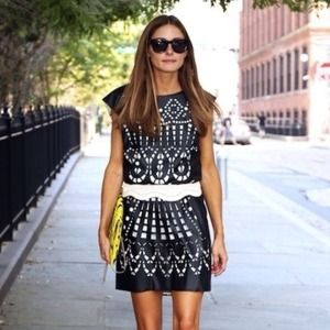 Catherine Malandrino Shift Dress - Olivia Palermo