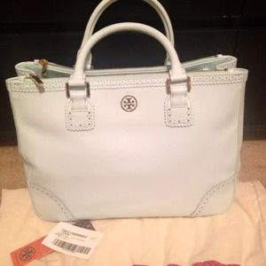 Tory burch pale blue Robinson