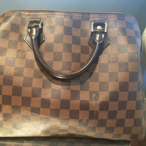 Additional Pics of Louis Vuitton Speedy 30 Damier