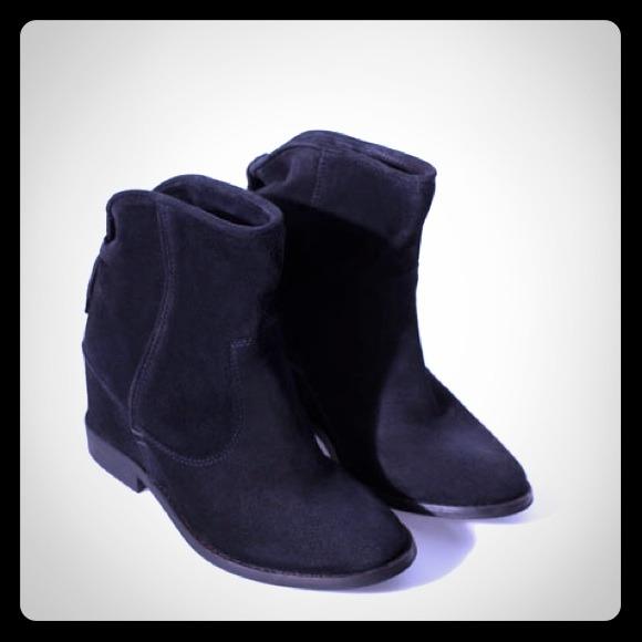 38 zara boots zara black suede wedge boots