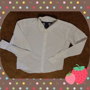 Ralph Lauren Tops - Ralph Lauren Sport white long sleeves shirt