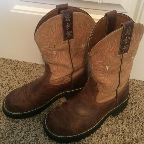 71% off Ariat Boots - Ariat pro baby from Jessica's closet on Poshmark